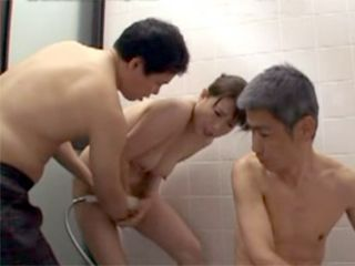 Two Japanese Brothers Loves To Use Their Maid For Fucking Too