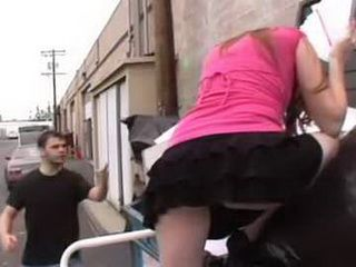 Thief Girl Busted In Stealing By Angry Man Gets Punished As She Deserves