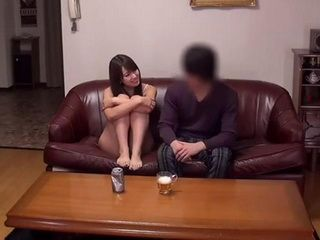 Horny Japanese Girl Waited For Her Friend To Go To Sleep So She Could Fuck Her Husband