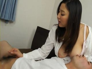 Busty Stepmom Yuri Honma Gives Tekoki To Her Stepson