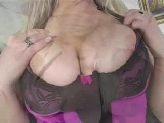 Busty Blonde Titjob