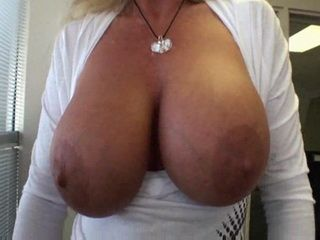 Busty Blond Milf Gets Fucked at the Office