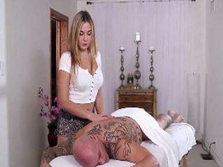 Sexy Girl Masseuse Provides More Than Just A Massage