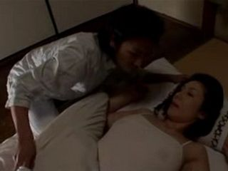 Sleeping Mother Rino Sekiguchi Gets Fucked Late at Night By Her Son