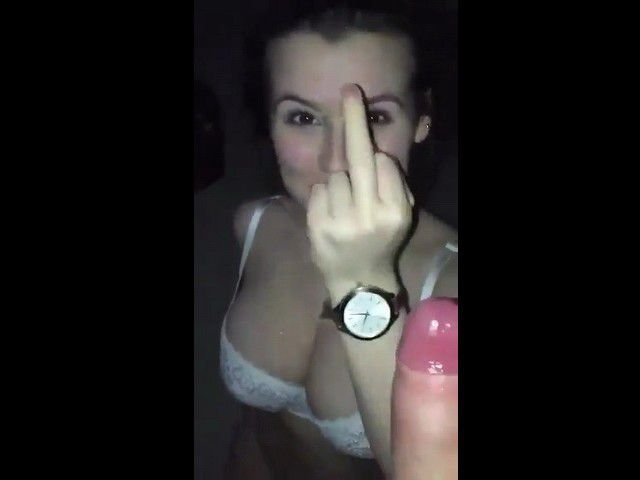 Teen Gets Pissed Off Because Of Totally Messed Up Facial Cumshot