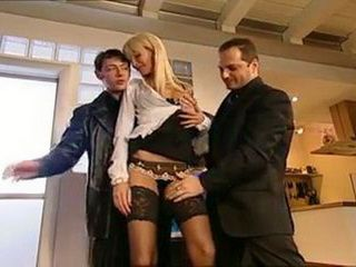 Trio Anal With Sexy Secretary