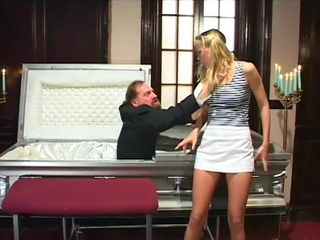 Dead Father Jumps Out Of Coffin Just To Fuck For The Last Time His Daughter In the Ass  Fantasy