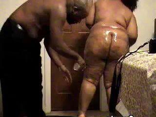 Masked Big Black Woman Fucking