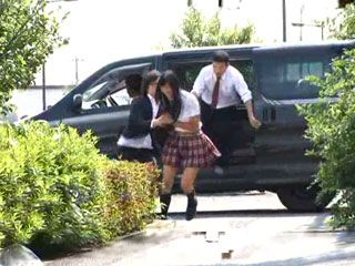 Poor Japanese Girl Gets Kidnapped On The Street And Violated By Bunch Of Guys