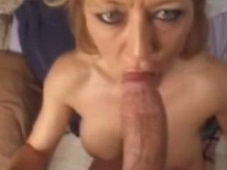 Older Women And Younger Man Taped While Giving Him Perfect Blowjob And Fucking