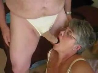 Granny and Grandpa Nylon Fetish