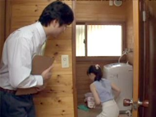 Beautiful Japanese Milf Intrigued Pervert Real Estate Agent
