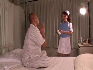 Hot Japanese Nurse Rika Anna Taking Advantage Of Her Patient