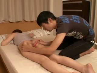 Sleeping Stepmom Yuna Shiina Gets Groped By Her Stepson