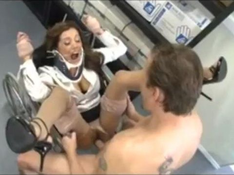 Creepy Orthopedic Aids Seller Assault And Fuck Rough Milf On Wheelchair