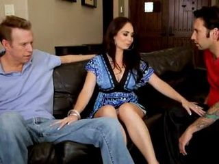Hot Milf Gets Hard Banging By Two Horny Guys
