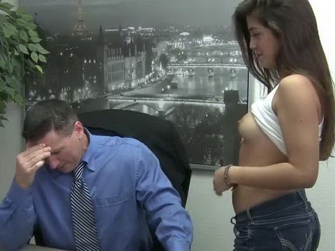 Naughty Daughter Console Upset Step Daddy With Financial Problems