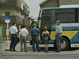 Japanese MILF Gives Tekoki To 2 Complete Strangers In Bus