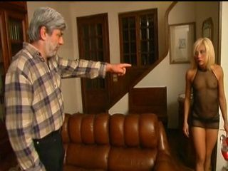Pissed Father In Law Punish Rough Sons Wife For Leaving The House Dressed Like Whore