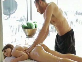 Erotic Oil Massage Turned Into Hardcore Fucking For Sensual Hottie