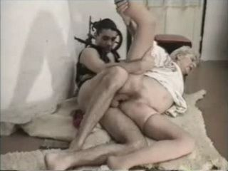 Old Granny Gets Fucked By Boy