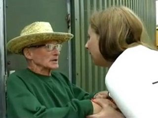 Old Grandpa With One Foot In Grave Got Indecent Proposal From Lewd Milf