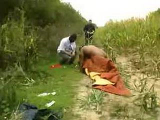 Black Friends Badly Fucked Mature Slut In FIeld