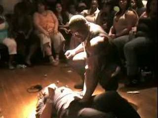 Afroamerican people Sexparty these Days