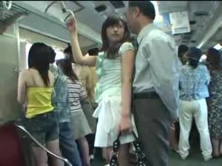Japanese Young Mom Fucked In Buss