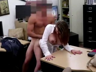 Busty Girl Agreed To Fuck For Money During Job Interview