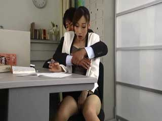 Busty Milf Professor Hasumi Claire Assaulted By Horny Colleague at Teachers Office