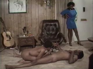 Black Mama Catches Dad Having Fun With her Young Cousin  Retro Porn