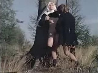 Priest Will Burn In Hell For What He Did To Nuns  Retro porn