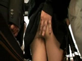 MILF Groped and GangFucked In Bus