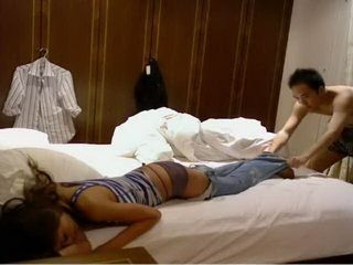 Naughty Asian Guy Fuck Sleeping Girl By Fraud