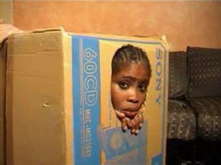 Fun With Black Cuban Hooker In a Box