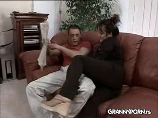Plump German Uncles Wife Fucked Hard By Husbands Nephew