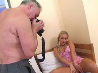 Naive Pigtailed Teen Realize Too Late That Old Fart Is Fake Model Scout