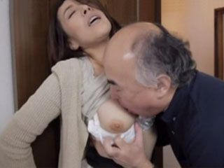 When She Send Off Her Hubby At Work Mature Neighbor Get His Wife Just For Himself  Nozomi Tanihara