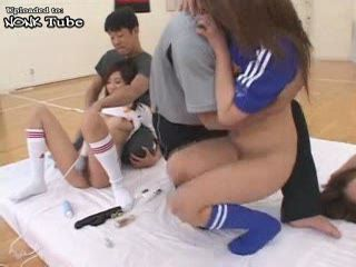Japanese Sex World Cup Orgy