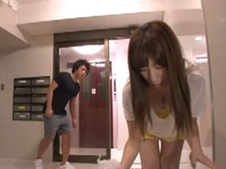 Mouthwatering Boy Couldnt Resist Busty Milf Neighbor  Saki Okuda