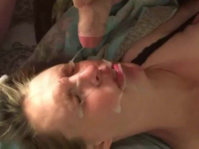 Girl Gets Disgusted Because Massive Facial Cumshot