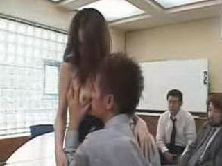 Japanese Student Girl Knew If She Dont Do This She Will Fall The Test