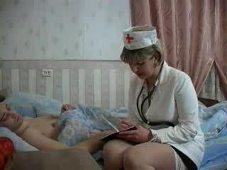 Mature Nurse Fuck Young Patient