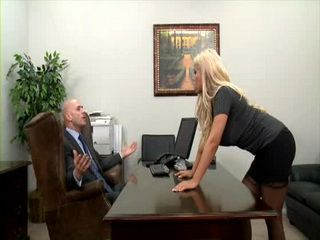 Secretary Bridgette Relaxed Boss After a Quarell