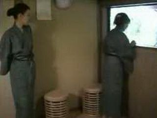 Japanese Husband Has Brought Wifes Sister This Time To Join Them In The Spa Center