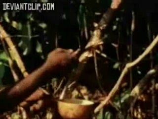 African Tribe Titty Doc Examines All The Female Tribe Members