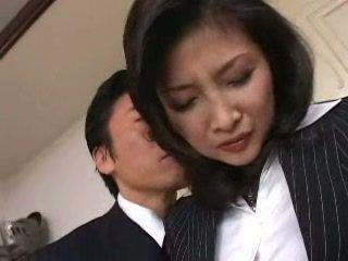 Boss Fuck Japanese MILF Secretary