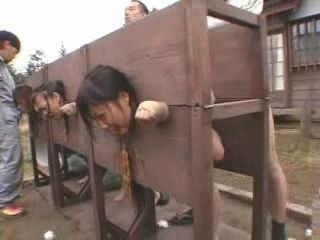 Medieval Look a Like Torturing Of Girls In Far Japan