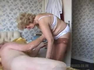 British Granny and Grandpa Fucks